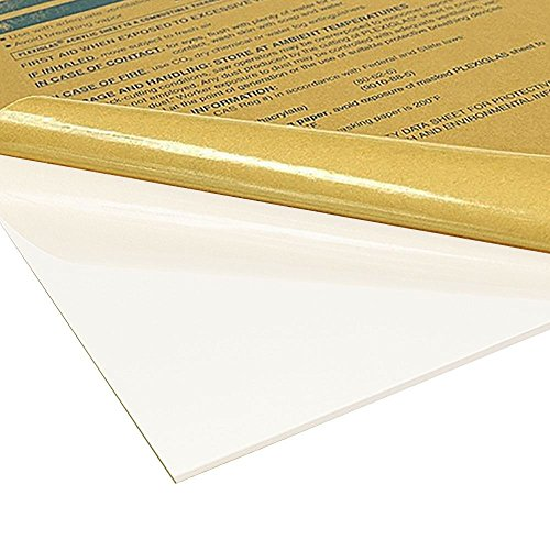 7328 White Acrylic - Online Plastic Supply White (7328) Cast Acrylic Sheet, 0.118 (1/8 inch), 24 inches x 48 inches