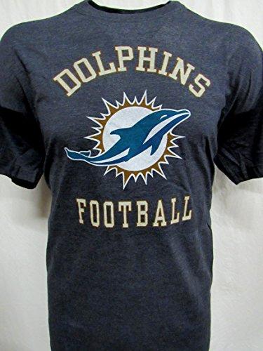 NFL Team Apparel Miami Dolphins Big Mens 3XL Short Sleeve HTH Screen Printed T-Shirt ADOL 102 3X A1 941 Q1