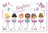 Personalized Custom Name Puzzle For Kids & Toddlers, Ballerina, Dancers |I See Me!