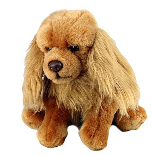 "Faithful Friends Ruby Cavalier King Charles Dog Stuffed Animal 12""/30cm"