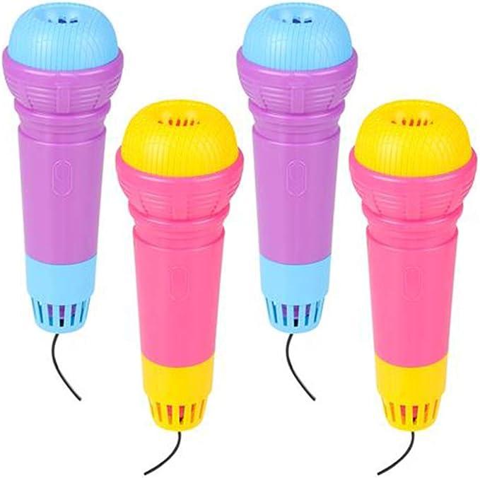 ArtCreativity Echo Microphones for Kids, Set of 4