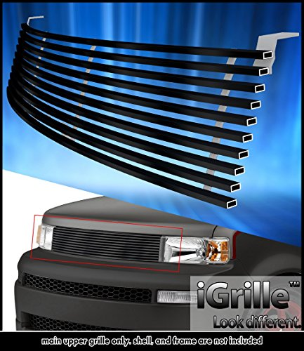 eGrille Fits 2003-2007 Scion XB Black Stainless Steel Billet Grille Insert (2006 Scion Xb Grille)