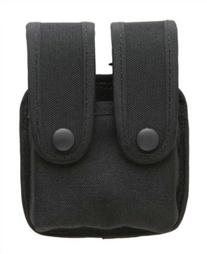 Uncle Mike Fitted Pistol Mag Case Protective Insert Flap Kodra Single Row Mags Soft Molded Belt