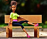 Best Doll Figures With Blonde Hairs - LAMINATED 29x24 Poster: Beauty Barbie Bank Sit Pretty Review