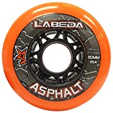 x1 org - Labeda WHEELS Inline Roller Hockey GRIPPER ASPHALT OUTDOOR ORANGE 72mm 85A x1