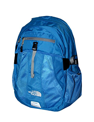 The North Face Women Recon Laptop Backpack Book Bag 17X14x4  Campanula Blue