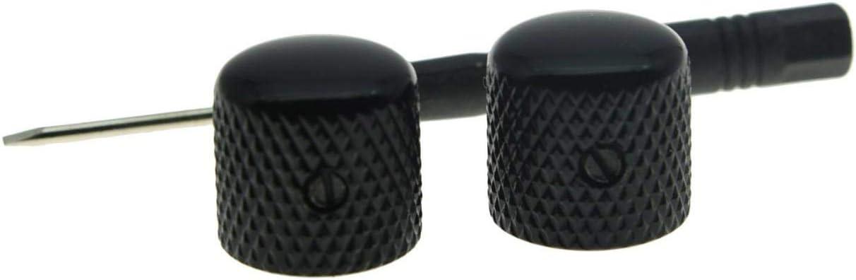 Ernie Ball EP perillas del potenci/ómetro 06355 Par Tipo Telecaster Negro