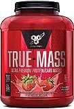 BSN TRUE-MASS Weight Gainer, Muscle Mass Gainer Protein Powder, Strawberry Milkshake, 5.82 Pound Review
