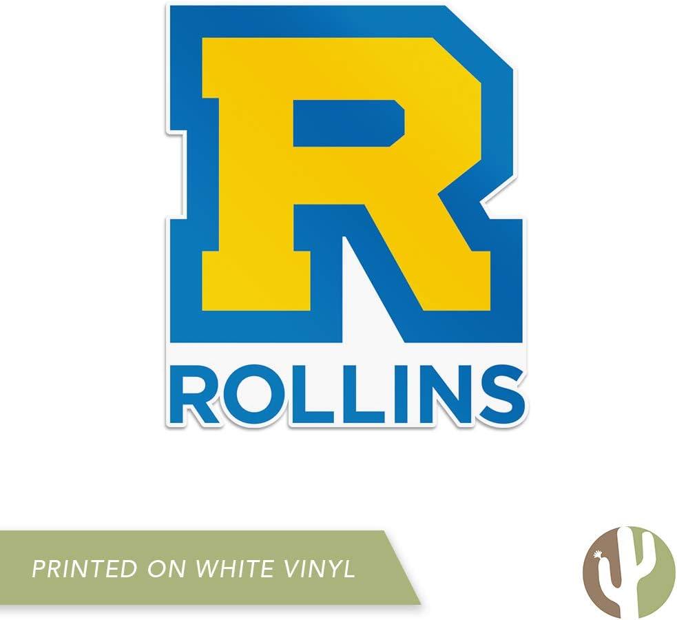 Rollins College Tars NCAA Vinyl Decal Laptop Water Bottle Car Scrapbook Sticker - 00017a