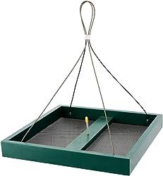 Solution4Patio Hanging Platform Bird Feeder