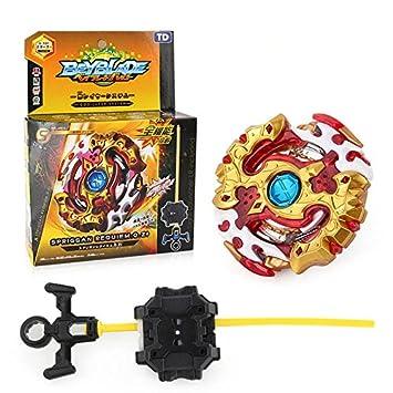 Lavendei 4D Fusion Modell Metall Masters Speed Kreisel | Kampfkreisel mit Launcher Kinder, Jugendliche und Erwachsene (B-00)