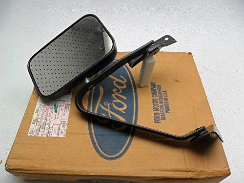 NOS New OEM Ford Left Manual Door Mirror Bronco Ranger (Ford Bronco Black Manual Mirror)