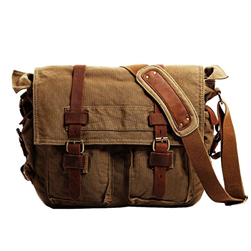 Shoulder Military Messenger 13 3 17 3 Inch Back