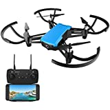 REDPAWZ R020 Quadcopter Drone Camera FPV RC Quadcopter HD 720P Wide Angle Camera Altitude Hold Gravity Sensor RTF - Blue