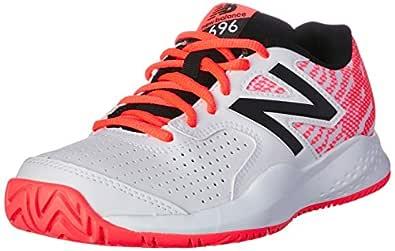 New Balance Women's 696v3 Tennis Shoes, Navy, EU 37 1/2 / 7 US