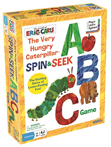 Abc Caterpillar - The World of Eric Carle The Very Hungry Caterpillar Spin & Seek ABC Game