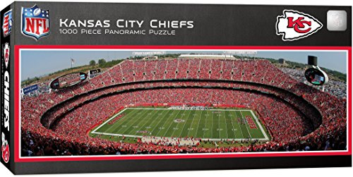(MasterPieces NFL Kansas City Chiefs 1000 Piece Stadium Panoramic Jigsaw Puzzle )
