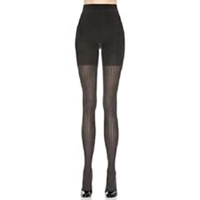 Assets By Sara Blakely Black Spanx Ribbed Tights