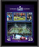 #8: Philadelphia Eagles 10.5'' x 13'' Super Bowl LII Champions Sublimated Plaque - Fanatics Authentic Certified