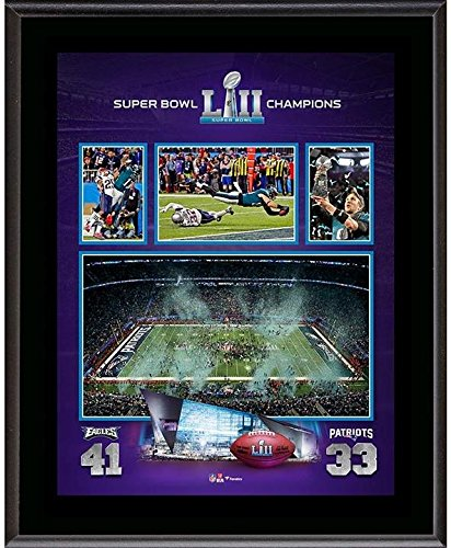 Philadelphia Eagles 10.5'' x 13'' Super Bowl LII Champions Sublimated Plaque - Fanatics Authentic Certified