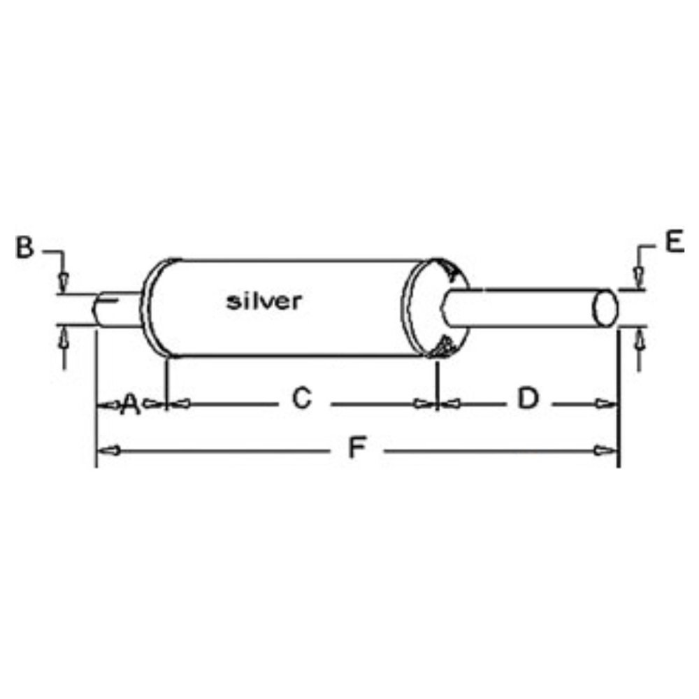 Body Diagram For Farmall 606 Start Building A Wiring Ih Amazon Com 350601r95 10 Muffler Case International Harvester Rh Diesel Parts