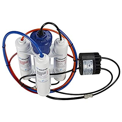 HydroGardener TMA-HG-Pro Pro Advanced Remineralizing Garden and Hydroponic Reverse Osmosis Water Filtration System, White