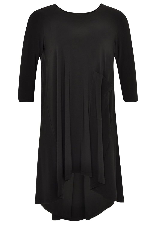 Yoek Damen Kleid Lockere Passform Plus Size