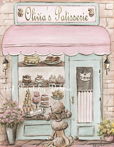 Paris Nursery French Parisian Shabby Chic Travel Theme - Per