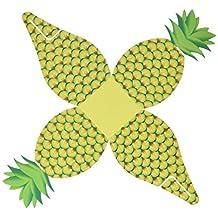 Artisano Designs Tropical Treats Oversized Pineapple Favor Box, 24-Pack