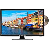 "Sceptre E249BD-FMQR 24"" 1080p LED TV with Build-in DVD Player, TV-DVD Combo, True Black"