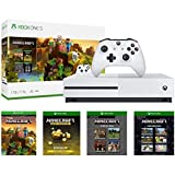 Xbox One S 1TB Console - Minecraft Creators Bundle: 1TB Xbox One S Console, Wireless Controller, Full Game Download of...