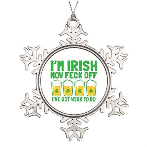 Metal Ornaments Personalised Christmas Tree Decoration Male Mens -