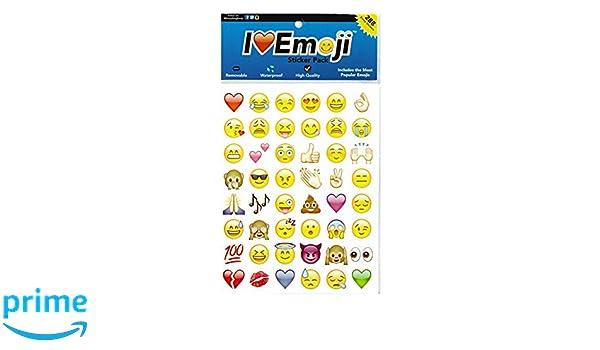 Amazon.com: I EM JI Emoji Sticker Pack - 288 of Your ...