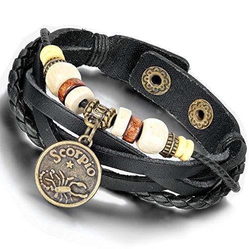 Aroncent Handmade Bracelet Constellation Adjustable