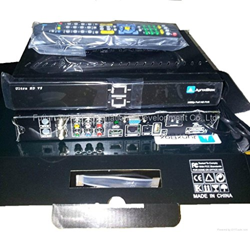Jynxbox Ultra HD V3 FTA Satellite Receiver with Built-in WiFi & JB200
