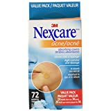 Nexcare Acne Absorbing Covers Two Size 72 Count Value Pack