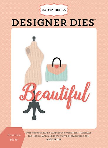 (Carta Bella Paper Company CBMG60040 Dress Form Die Set )