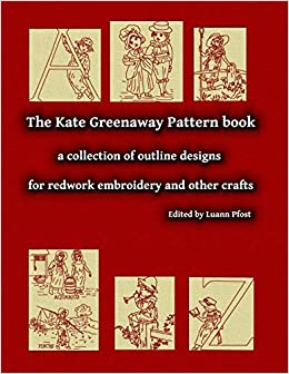 amazon the kate greenaway pattern book a collection of outline