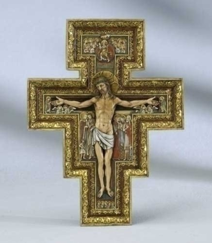Renaissance Collection Joseph's Studio by Roman Exclusive San Damiano Cross, 10.75-Inch by Renaissance Collection (Image #1)