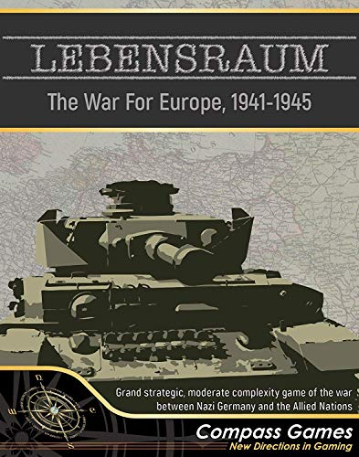 CPS: Lebensraum, War for Europe 1941-5, 2nd Edition [Previously published as Lebensraum and West Front] (End Of 2nd World War In Europe)