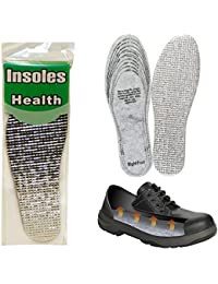 1 Pair Insulating Foil Thermal Shoe Insoles Mens Ladies Trainers Winter Warm !
