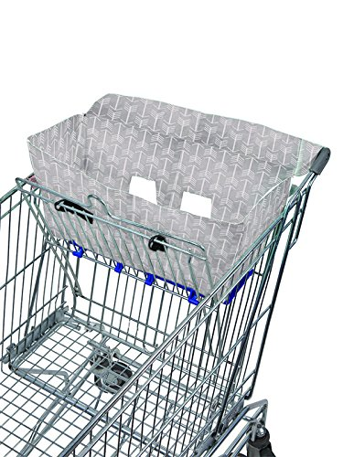 Bambella Designs Shopping Cart Liner - Gray Arrows