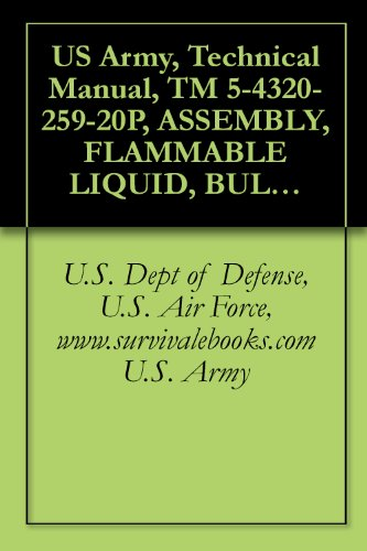 US Army, Technical Manual, TM 5-4320-259-20P, ASSEMBLY, FLAMMABLE LIQUID, BULK TRANSFER, CENTRIFUGAL, GASOLIN DRIVEN, 100 GPM, (BARNES MODEL US6ACG), (FSN ... military manauals, special forces