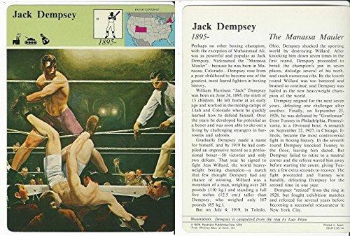 - 1979 Panarizon, Story Of America, 05.14 Jack Dempsey, Boxing
