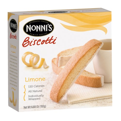 Nonni's Biscotti Limone, 6.88-Ounce Boxes (Pack of - Coffee Limone