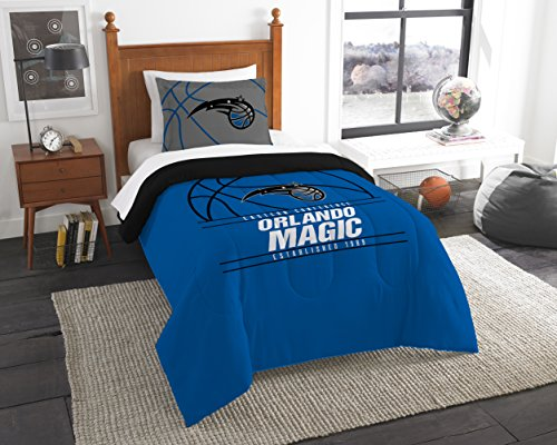 - The Northwest Company Officially Licensed NBA Orlando Magic Reverse Slam Full/Queen Comforter and 2 Sham Set