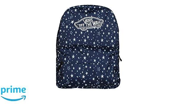 Amazon.com | VANS Realm Backpack Medieval Blue Stars Schoolbag VN0A3UI6RCJ Vans bags | Backpacks