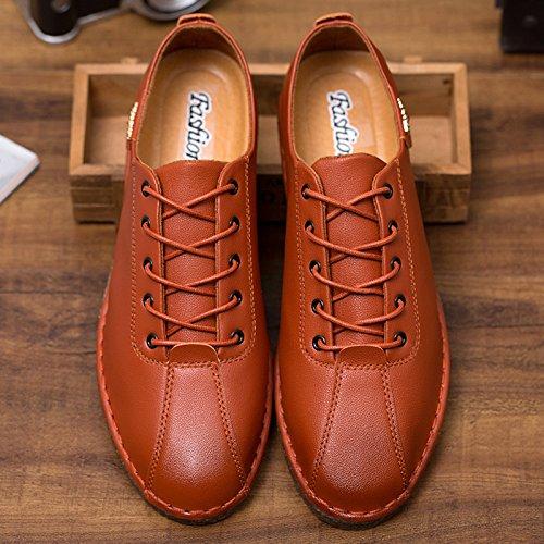 Casual L'Homme qualité de conduisant la brown Casual haute Chaussures Chaussures Patins voiture classique FFXrS1