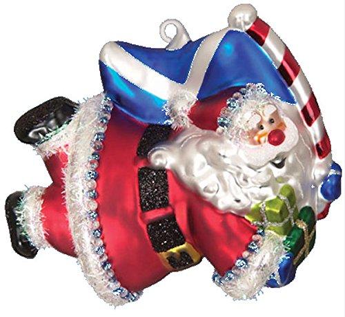 Scottish Christmas Super Santa Scotland Ornament