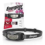 Energizer Linterna LED para la Cabeza, Brillante y Duradera, Ligera, para Camping, Senderismo, Exteriores, luz de Emergencia, Mejor lámpara de Cabeza para Adultos y niños, Pilas Incluidas